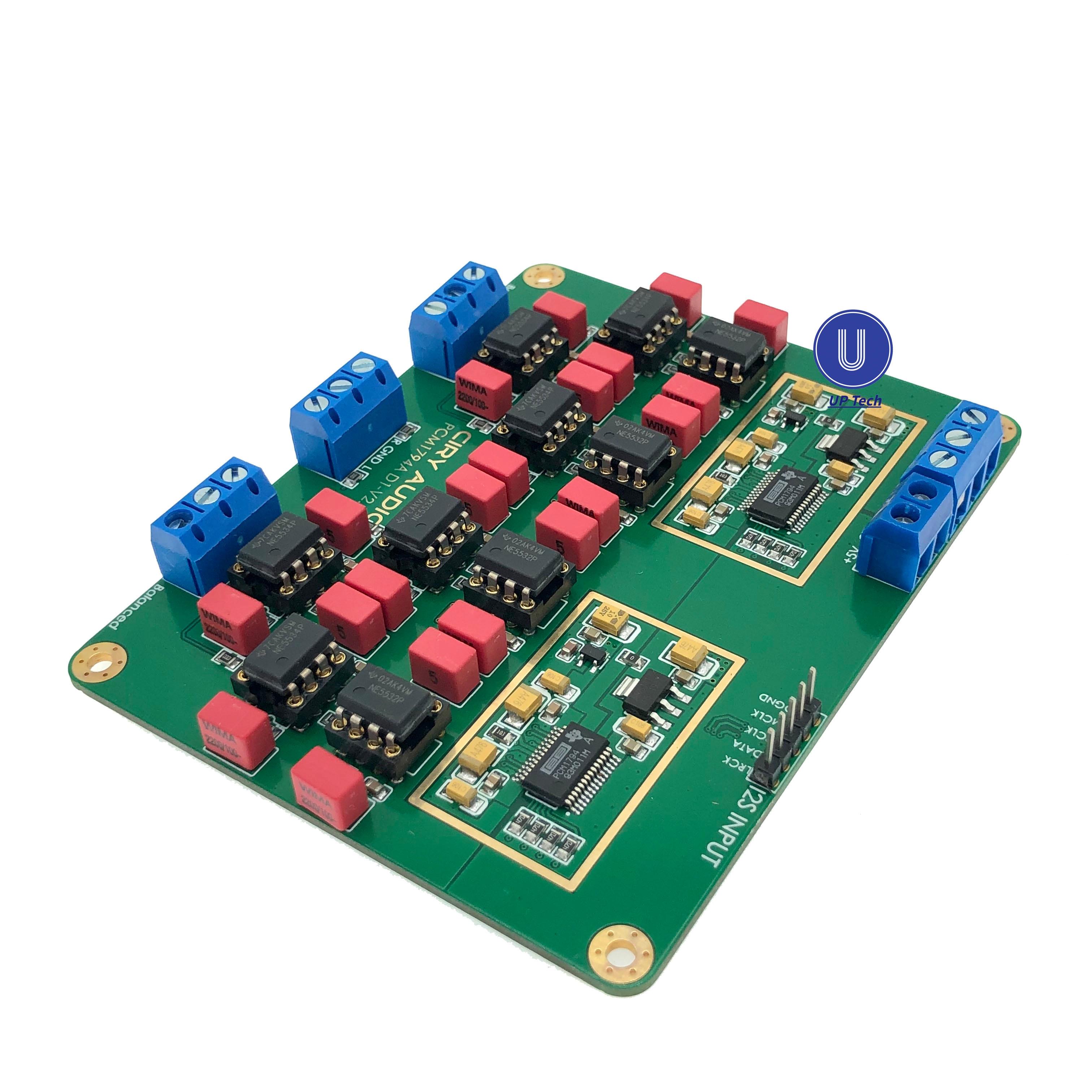 HiFi-وحدة فك ترميز الصوت PCM1794A PCM1794 1794 DAC ، لوحة مجمعة 24 بت 192 كيلو هرتز