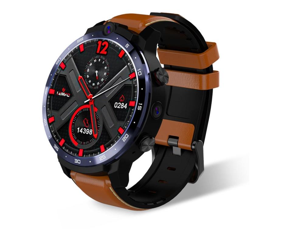 Promo Smart Watch 2 Camera GPS Smartwatch Men 4G Smart Watch Phone Heart Rate 4GB 64GB 1.6inch Big Screen Watch