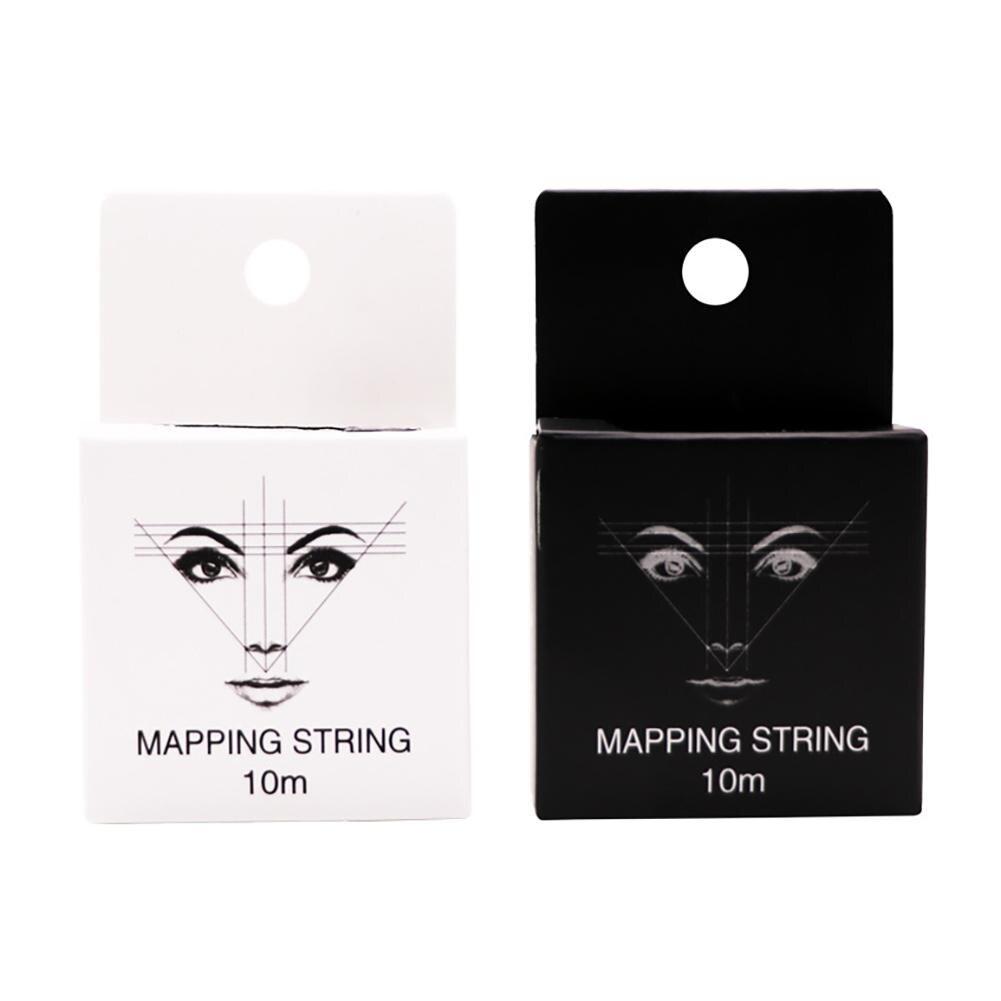 10m Pre Ink mapeo cuerda de ubicación línea de sombra de cejas herramienta de maquillaje 2020