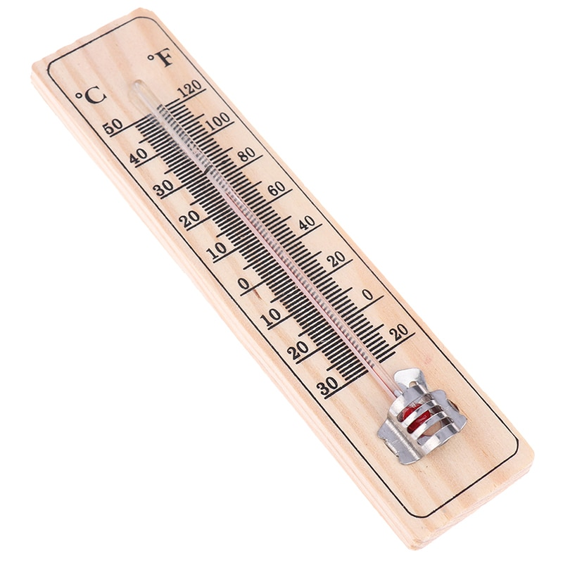 1 шт. деревянные Термометры практичный садовый офис гараж комнатный температурный Регистратор настенный прямой считыватель тип высокое качество