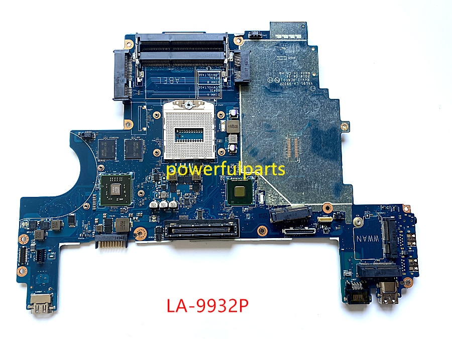 100% العمل مع اللوحة الأم الكمبيوتر المحمول DELL Latitude e6440 007KGN CN-007KGN VAL91 LA-9932P maiboard مع 216-0841009 الرسم