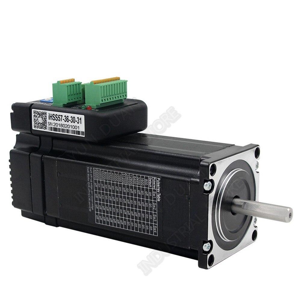 NEMA23 3Nm 428Oz. في JMC المتكاملة 57 مللي متر 57 36VDC 1500rpm DSP الهجين مغلقة حلقة موتور سائق التشفير جميع في واحد سهلة مضاعفات
