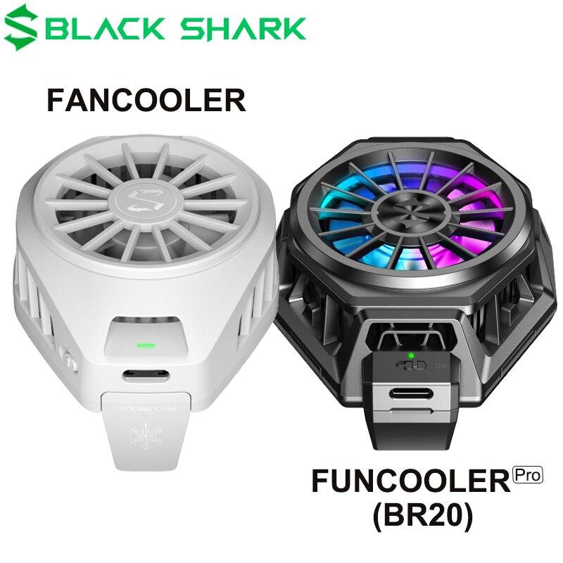 В наличии оригинальный черный Shark 3 Pro 2 Pro FunCooler Liquid Type C RGB для xiaomi iPhone для Android phone iOS phone охлаждающий вентилятор
