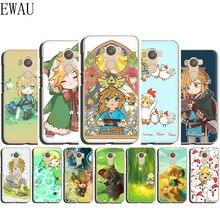EWAU The legend of zelda Silicone Mattle phone case for Xiaomi Redmi Note 4 4X 5 6 7 8 pro 5A Prime 8T