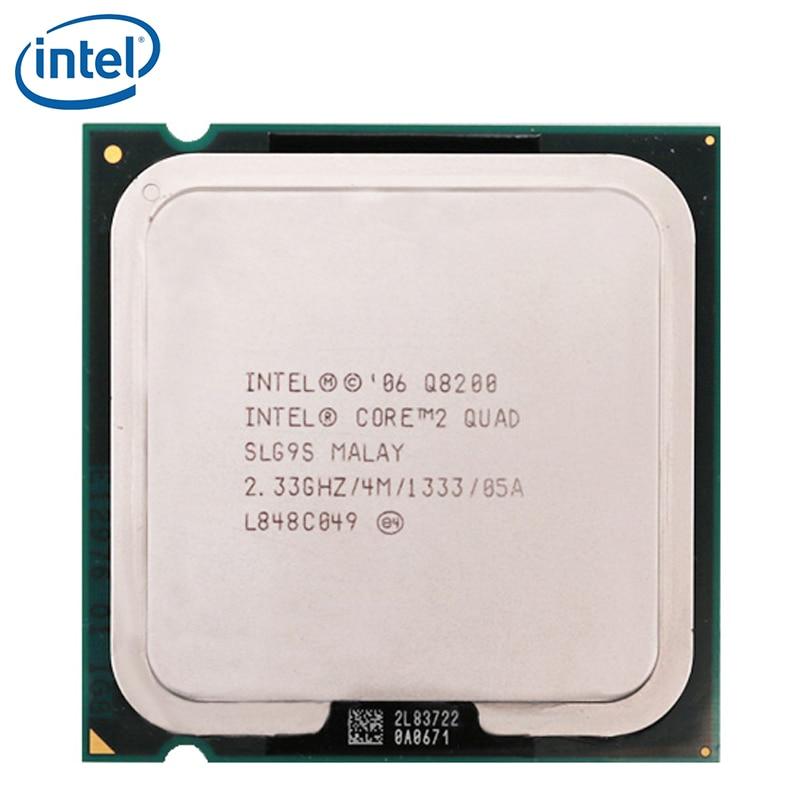 Intel Core 2 Quad Q8200 2.33GHz Quad-Core CPU Processor 4M 95W 1333 LGA 775 tested 100% working