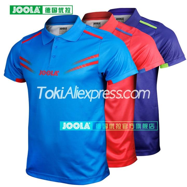 Футболка для настольного тенниса JOOLA одеколон (Звездная модель Aruna Quadri & Chen Weixing)