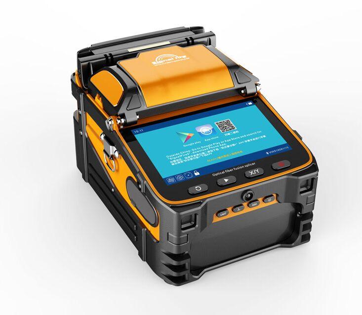 Envío gratuito con DHL envío Signalfire AI-9 FTTH fibra óptica máquina de soldadura de fibra óptica empalmador de fusión AI-9