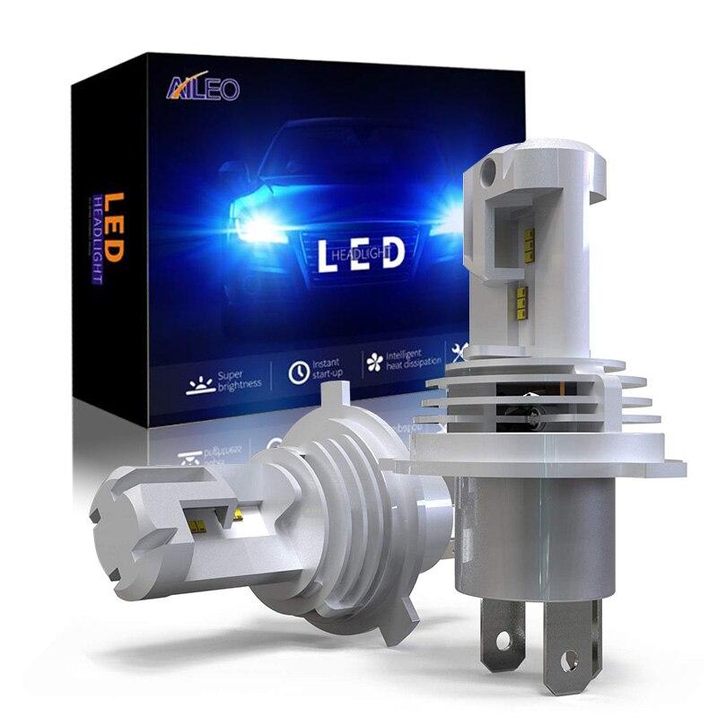 مصباح أمامي للسيارة H4 LED H7 H8 H9 HB2 HB3 H11 HB4 9005 9006 60W 12000LM ، التوصيل والتشغيل ، مشرق للغاية ، 6000 كيلو ، شعاع عالي/منخفض