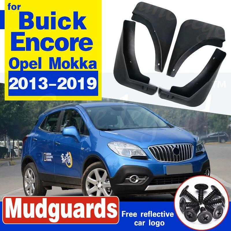 Para Opel Mokka X Vauxhall Buick Encore 2013 - 2019 Mudflaps Splash guardias delantero trasero conjunto guardabarros 2014, 2015, 2016, 2017