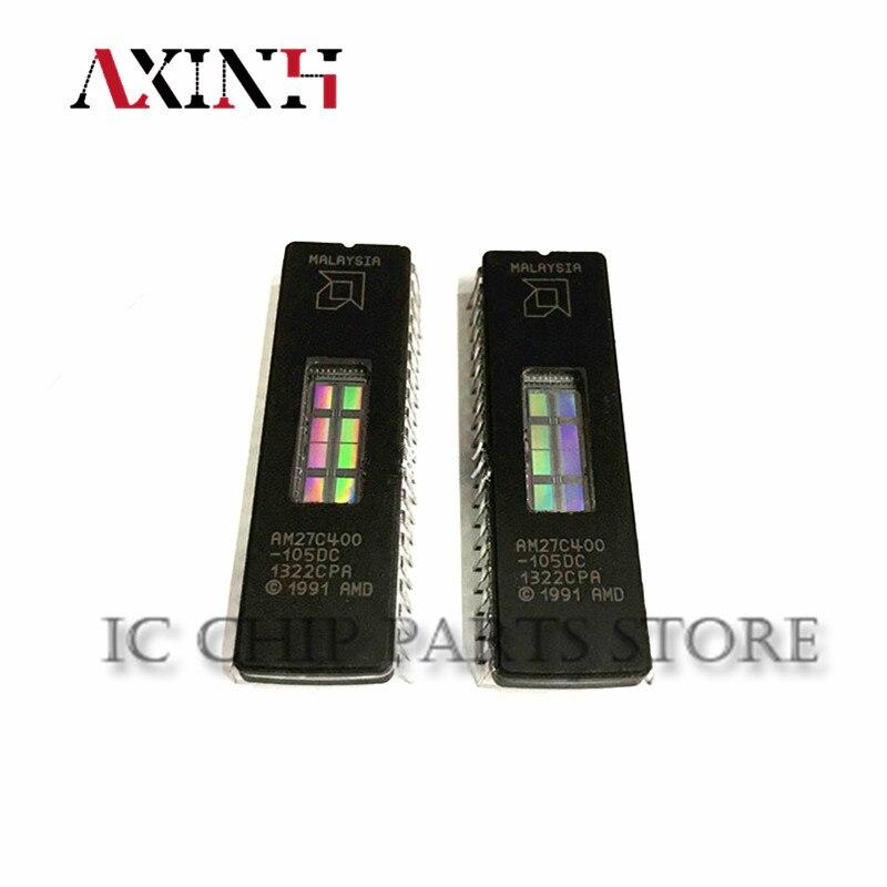AM27C400-105DC 10 قطعة/السلع AM27C400 105DC DIP-40 جديد الأصلي IC في الأوراق المالية