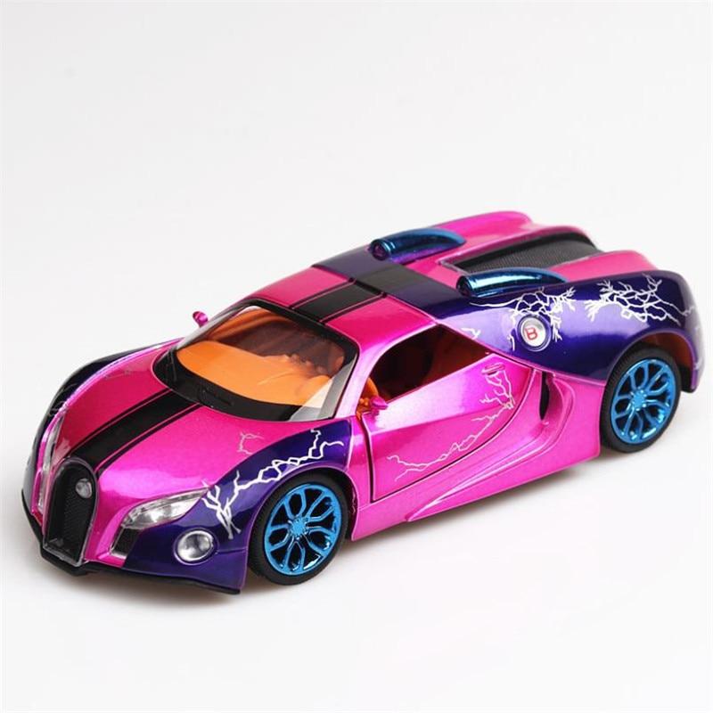 Nuevo coche de juguete Bugatti GT 132, coche de aleación de Metal fundido a presión, modelo a escala en miniatura, modelo de juguete de Metal, coche, juguetes para niños