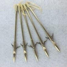 Harpon de pêche en acier, 3 pièces, balle, catapulte