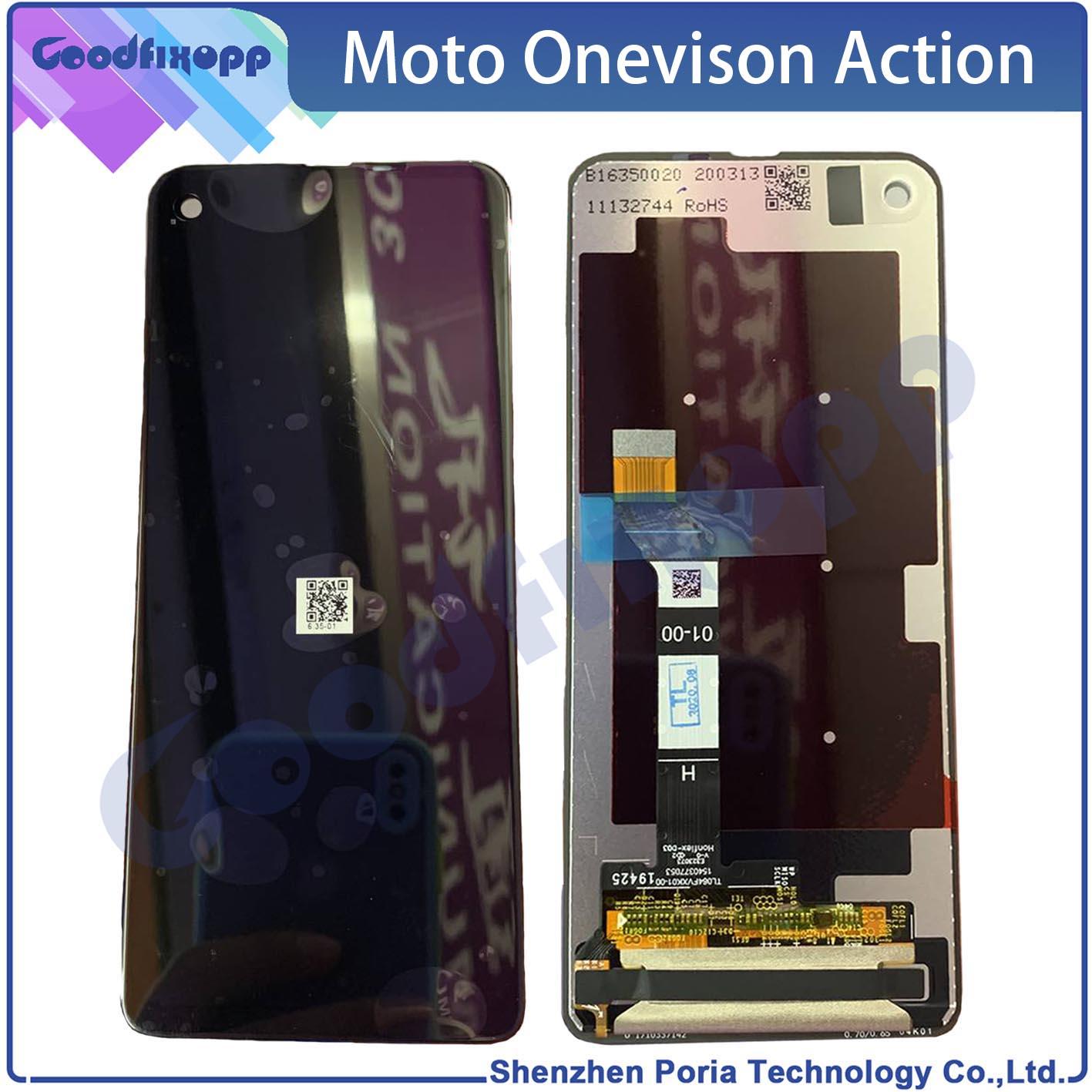 لموتورولا موتو فيجن P50 XT1970 شاشة LCD الاستشعار شاشة تعمل باللمس محول الأرقام الجمعية ل موتو عمل واحد LCD تعمل باللمس