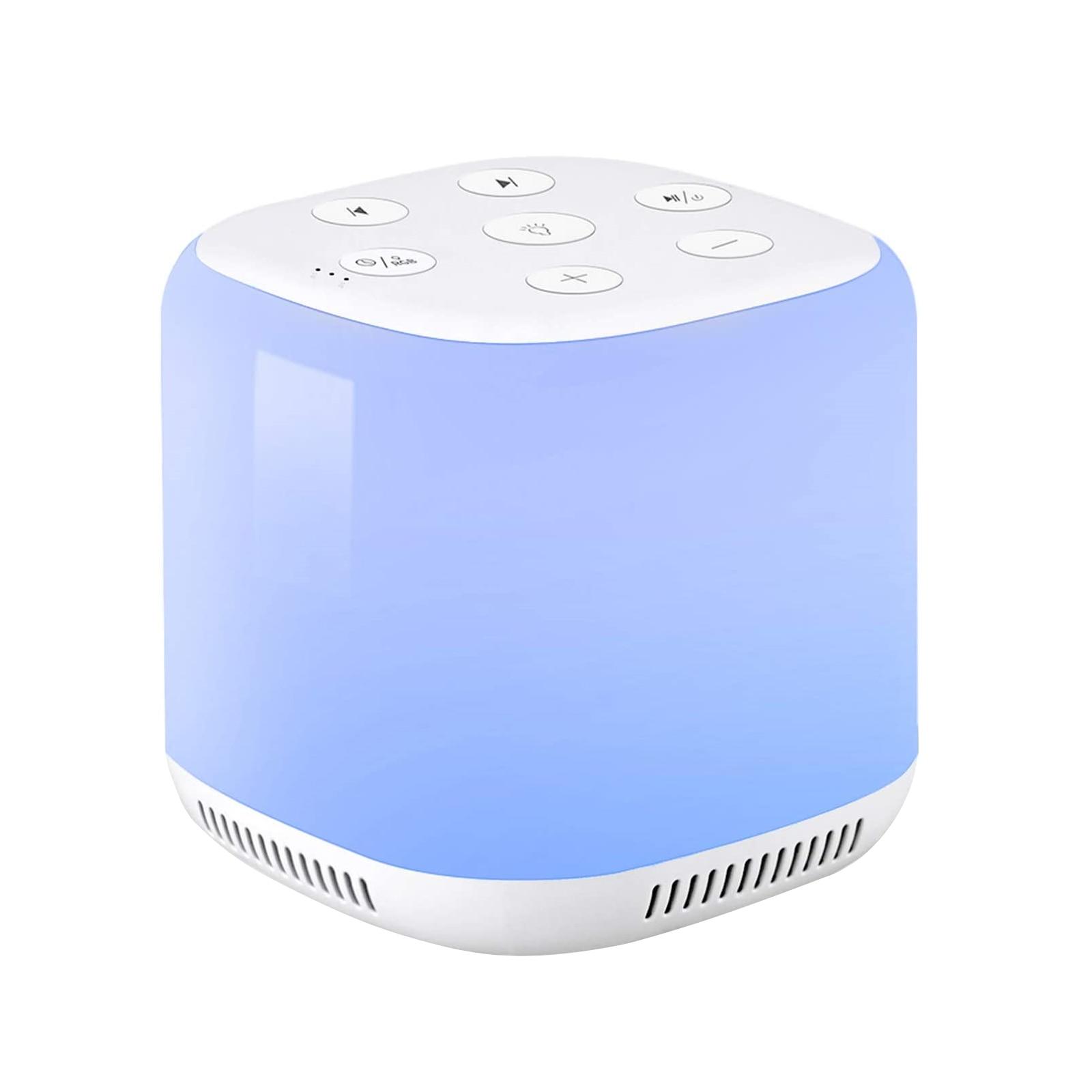 baby-white-noise-machine-usb-rechargeable-timed-shutdown-sleep-machine-baby-sleep-sound-player-night-light-timer-noise-player