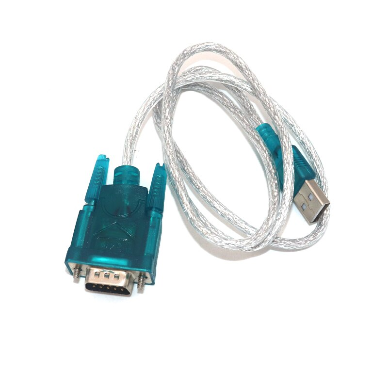 usb to rs232 female serial data cable 9 pin rs232 usb cable for electronic display electronic scale extension rs232 cable HL-340 USB to RS232 COM Port Serial PDA 9 pin DB9 Cable Adapter Support Windows7 64 NEW