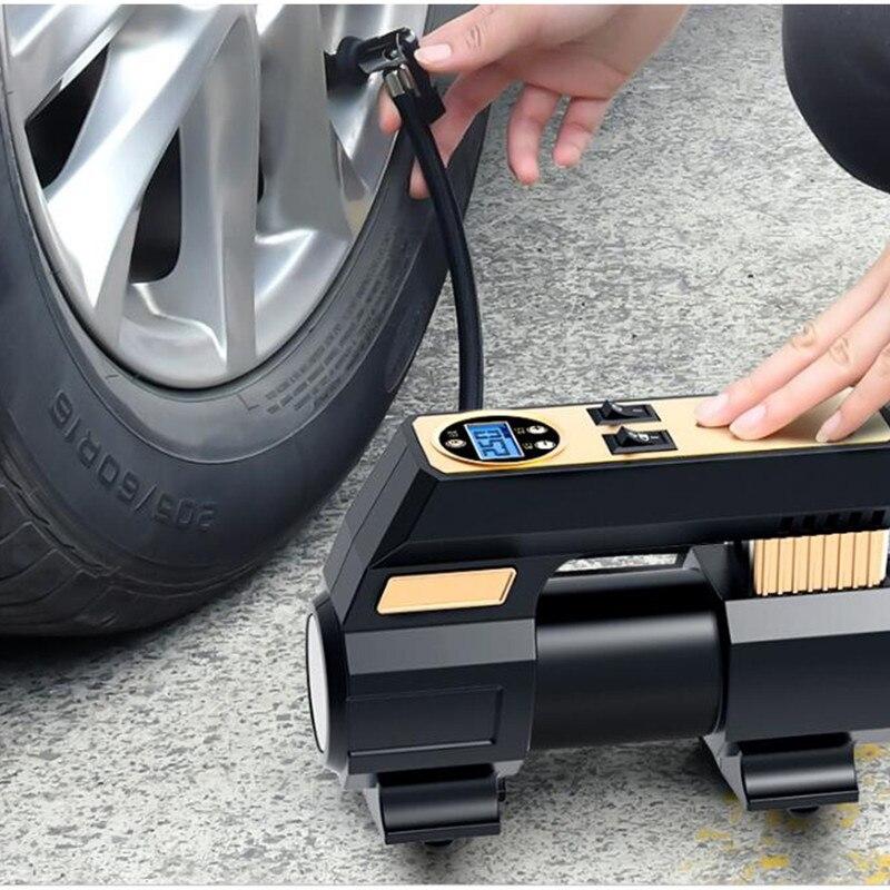 Inflador de neumáticos coche a 12v automático.