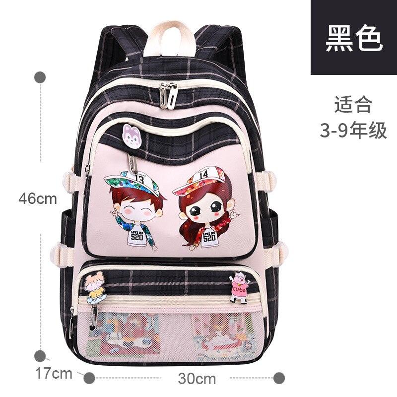 Водонепроницаемый школьный ранец для девочек, детский рюкзак для начальной школы, ортопедический детский школьный портфель принцессы