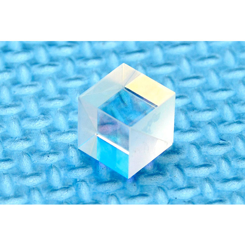 Cubos divisores de viga polarizados PBS transparente 450nm-660nm, 10X10mm para láseres azules y rojos