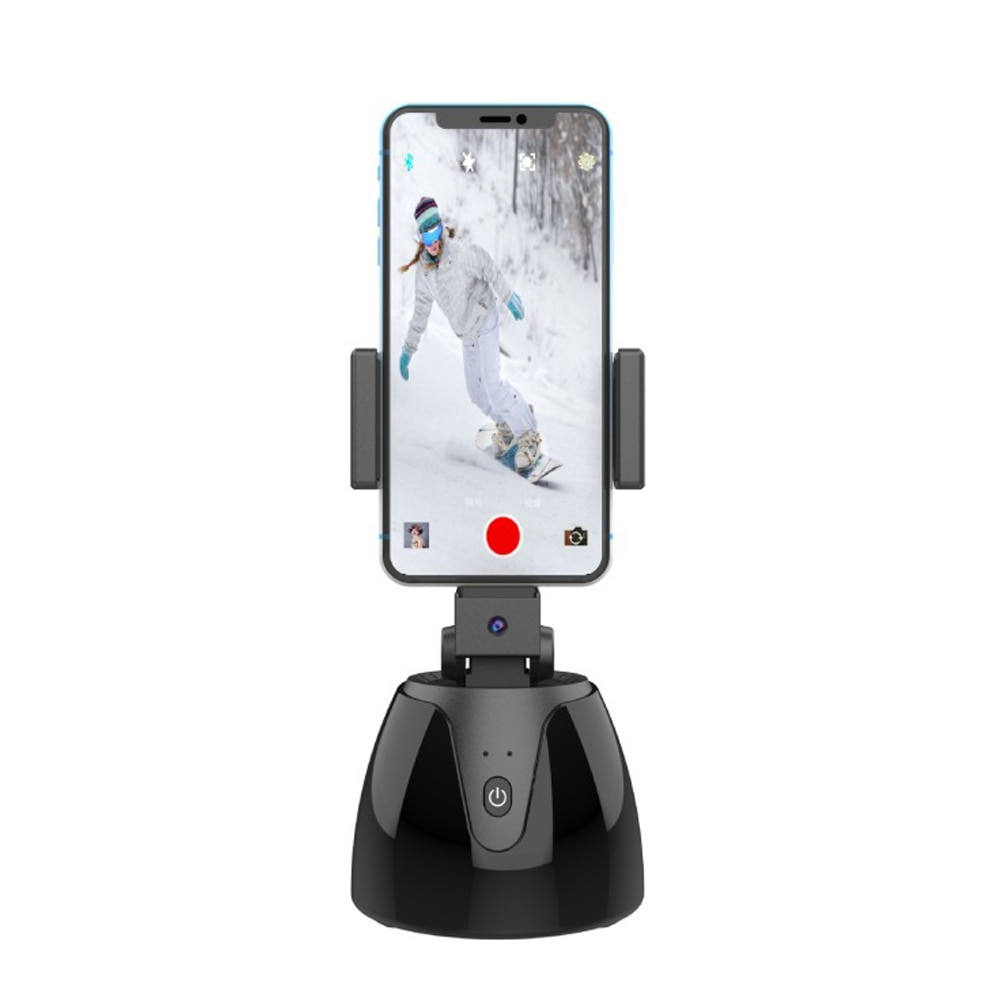 1Pcs APAI GENIE II 360° Rotation Smart Selfie Stick Auto Face Object Tracking Camera Tripod Holder Smart Shooting Phone Mount