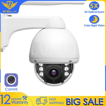 Camhi Security IP Camera WiFi 5MP Video Surveillance CCTV Camera 2MP Smart home Motion Detection Two Way Audio Metal Waterproof