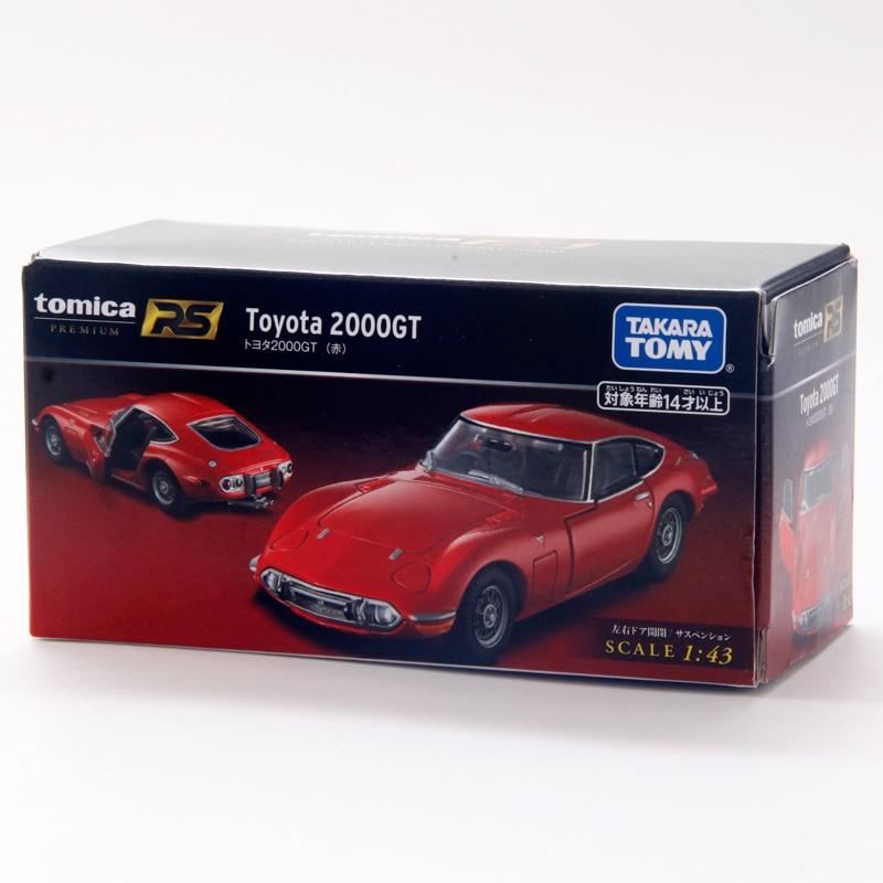 Такара томика Премиум 1:43 RS Toyota 2000GT красный спортивный автомобиль металлический литой автомобиль