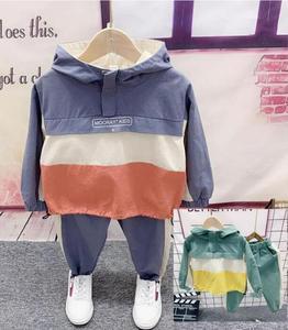Baby boy clothes set Children Boys Clothes Autumn Kids Baby Boys hoodie + Pants Outfits Set 2pcs suit 2-6year