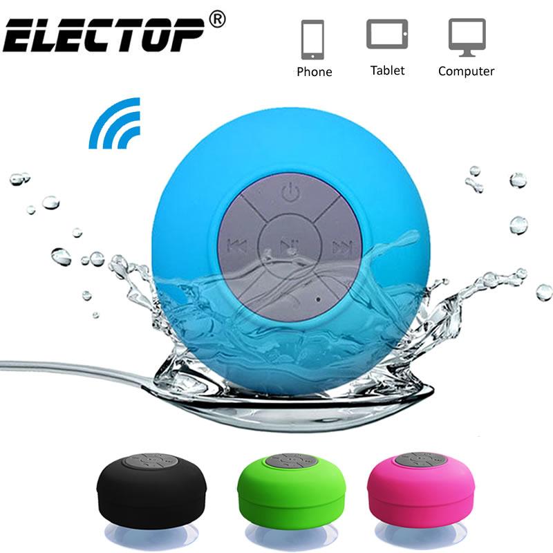 Portable Bluetooth Speaker Wireless Waterproof Shower Speakers for Phone PC Bluetooth Soundbar Hand