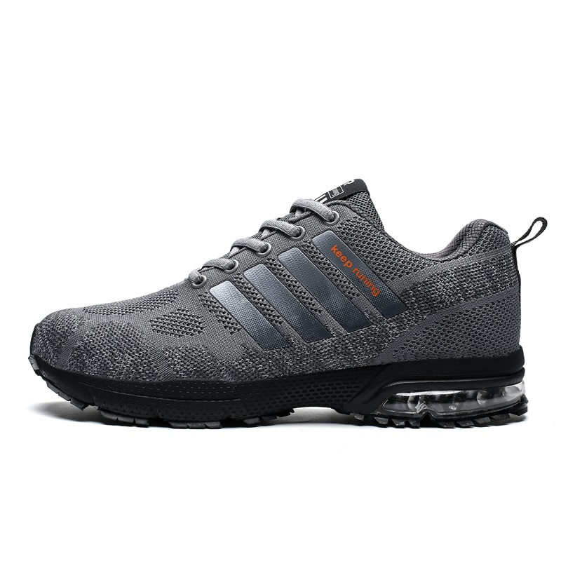2019 Running Shoes For Men Summer Women Air Sneakers Lace Up Low Top Jogging Shoes Man Athletic Footwear Breathable size 36-47