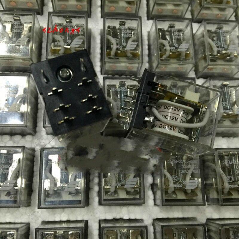 SMBH-12VDC-FL-2C РЕЛЕ 8-Pin 2-группы импульсный 10A 250VAC 13F