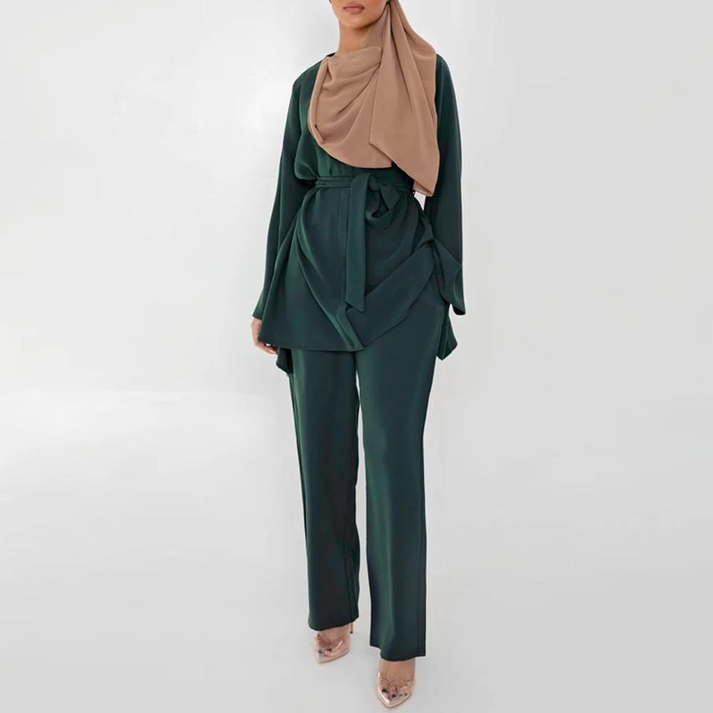 طقم عباية نسائي ، أزياء إسلامية ، على الطراز الأوروبي والأمريكي ، عباية ، تركيا ، أزياء إسلامية