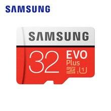 Carte mémoire SAMSUNG Micro SD EVO + 32 go 95 mo/s SDHC SDXC UHS-I C10 U1 carte Full HD TF avec adaptateur pour tablette Smartphone