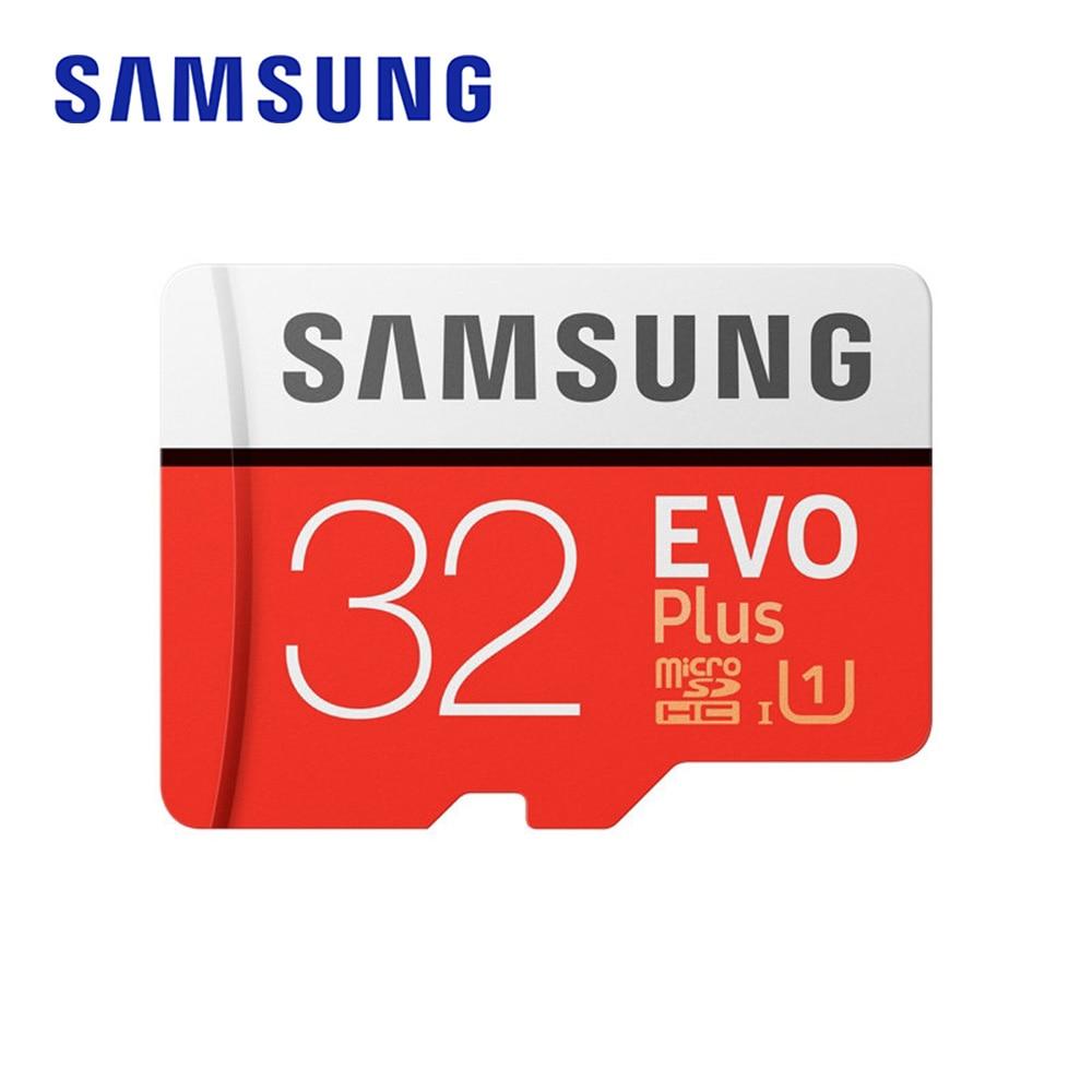 Samsung cartão de memória micro sd evo + 32 gb 95 mb/s sdhc sdxc UHS-I c10 u1 completo hd tf cartão com adaptador para smartphone tablet