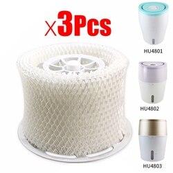 3 шт. Оригинальный OEM Увлажнитель воздуха части фильтра бактерии и весы для Philips HU4801 HU4802 HU4803 HU4811 HU4813 части увлажнителя