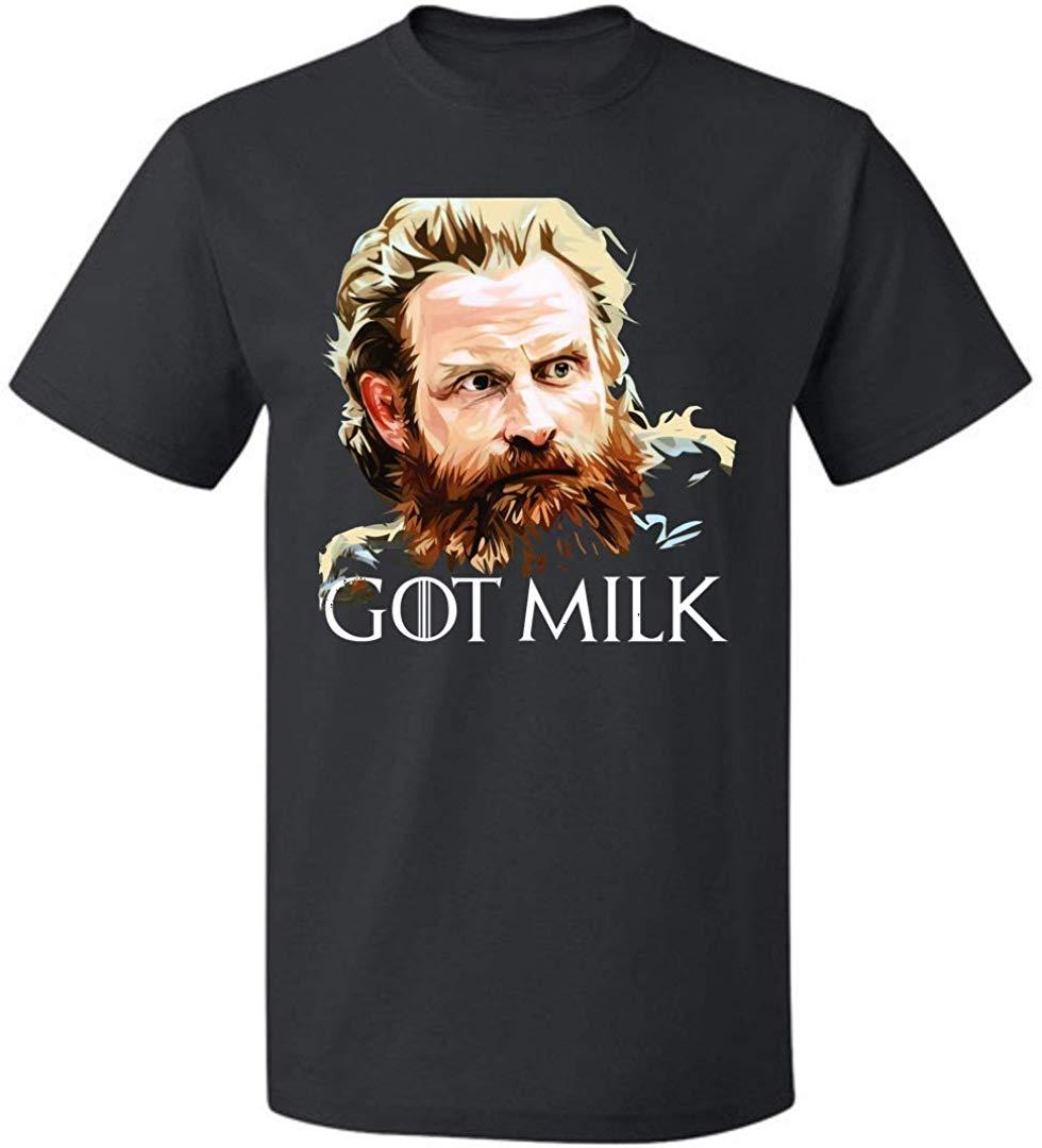 Camiseta Got Milk para hombre y mujer, camiseta con frase de Juego de tronos tormundo Giantsbane de hasta 5XL, camisetas de talla grande