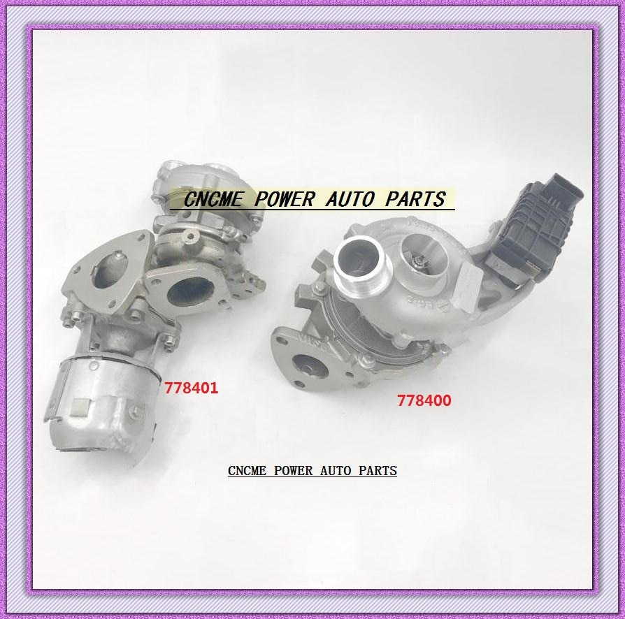 Twin Turbo GTB1749VK 778400 778400-5005S LR056369 + GT1444Z 778401 778401-5005S LR063777 para Land Rover discovity IV TDV6 V6