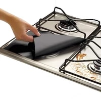 4pcs oil proof gas stove cleaning mat washable thicken gas cooker cover pad easy cleaning mom helper kitchen accessories tools