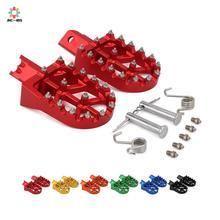 Repose-pieds universel pour HONDA   Moto en aluminium, 110 colorées, repose-pieds, pour HONDA CRF XR 50 70 M2R SDG DHZ SSR KAYO Pit Bike
