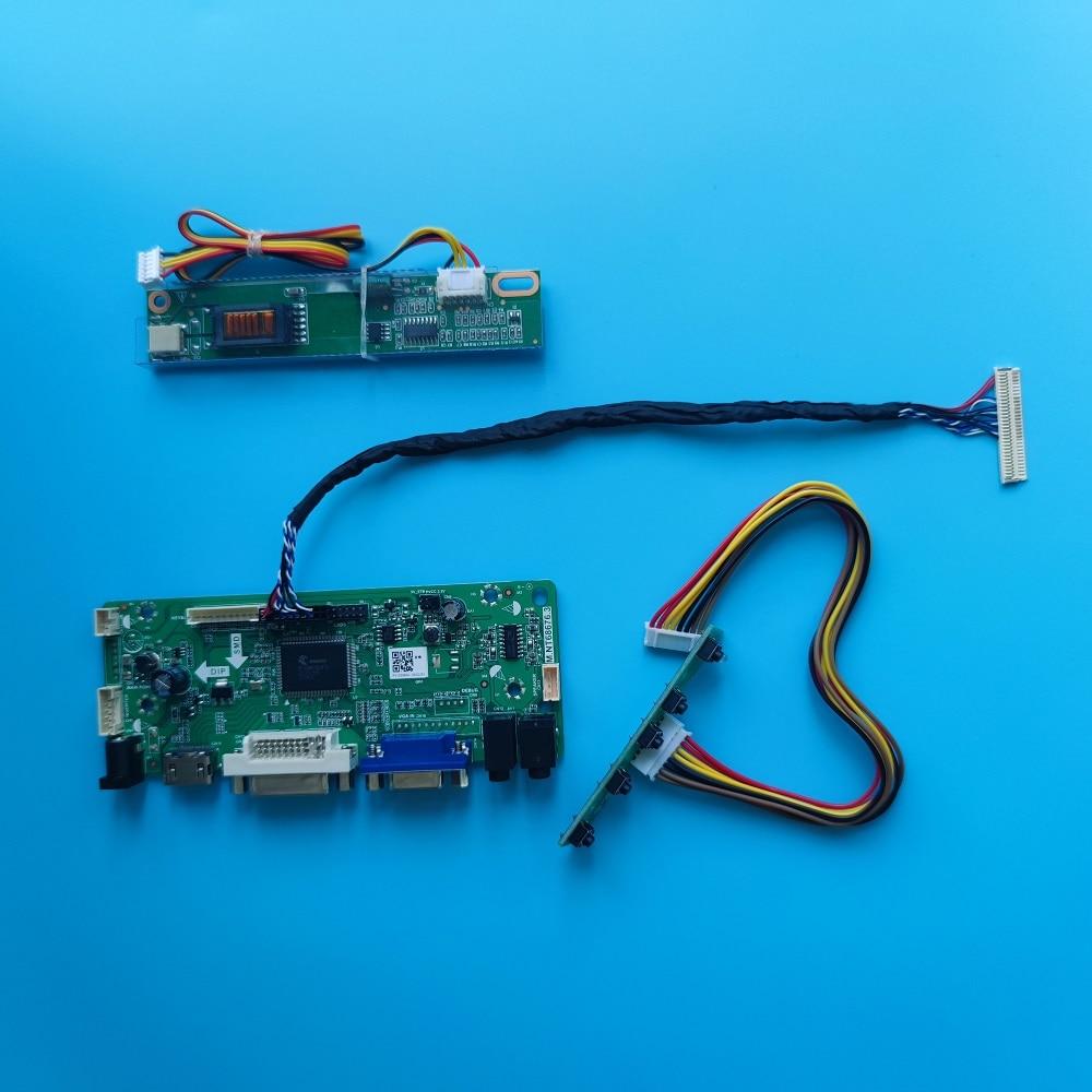 ل LP150X08-TLA4/TLA6/TLA7/TLA9/TLAA/TLAD/TLB1/TLC1/TLA3 لوحة VGA 1024x768 1 مصابيح LCD DVI تحكم مجلس رصد عدة 15