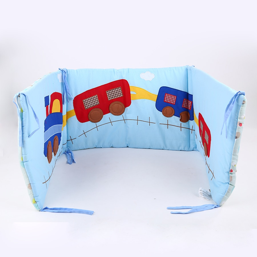 180cm*40cm Baby Bed Thicken Bumpers One-piece Crib Around Cushion Cot Protector Pillows Newborns Room Decor For Newborns