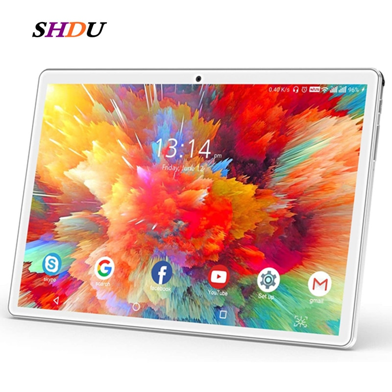 New Tablet Pc 10.1 inch Android 10.0 Tablets 32GB ROM Octa Core Google Play 3g 4g LTE Phone Call GPS WiFi Bluetooth 10 inch 10 1 inch octa core android 9 0 tablets 4g lte phone call tablet pc 2gb ram 32gb rom wifi google play gps dual sim card 1280 800
