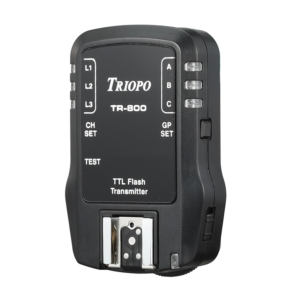 Soonpho 2.4G wireless flashing device TR800 TR-800 receiver and transmiter For Canon Nikon Camera Suit enlarge