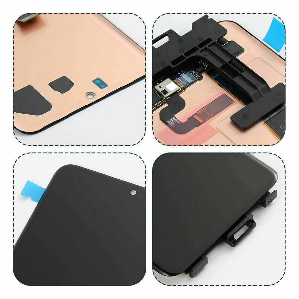 Original for Samsung Galaxy S20Ultra LCD G988, G988F, G988B/DS, with frame display touch screen digitizer with black dots enlarge