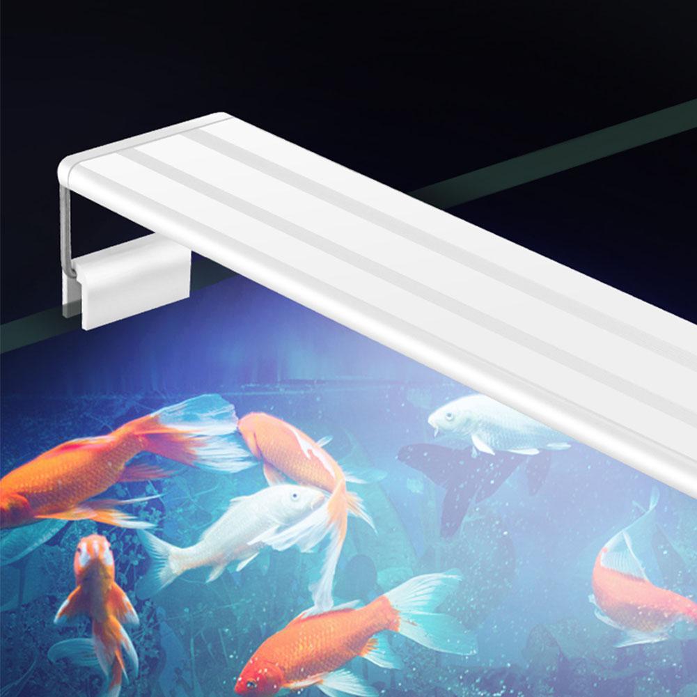 Twister. ck 3w-16w super magro led aquarium iluminação planta aquática luz extensível clipe à prova dlamp água na lâmpada para o tanque de peixes