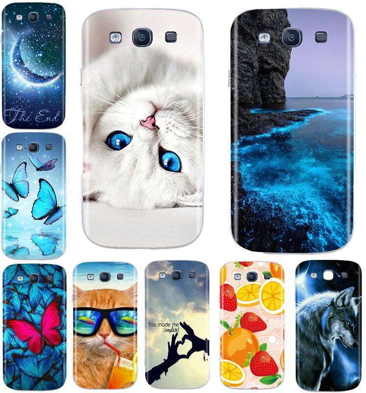 TPU Funda de teléfono para Samsung Galaxy S3 S3 Neo SIII I9300...