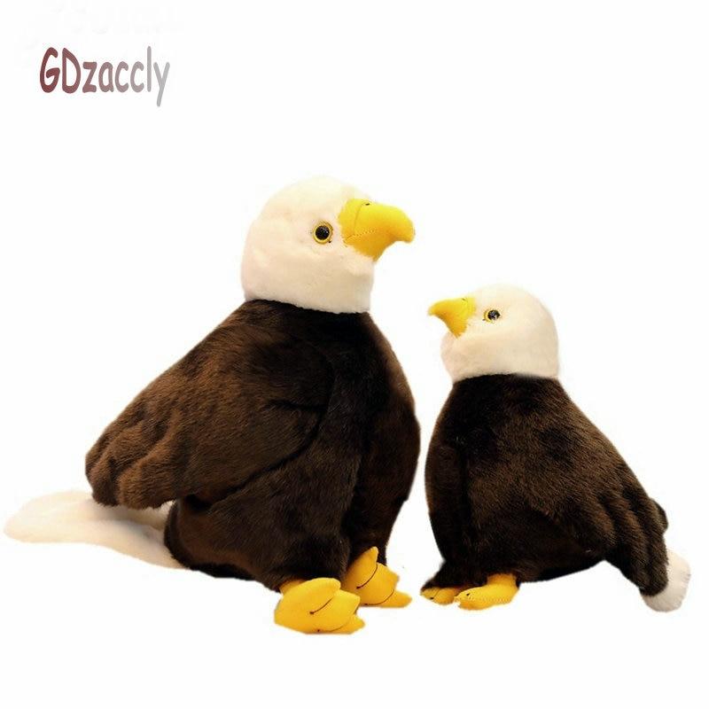 20cm 40cm simulation Sea Eagle plush toys Stuffed lifelike Bird plush Doll toys Photography props  Home Room Decor Biological
