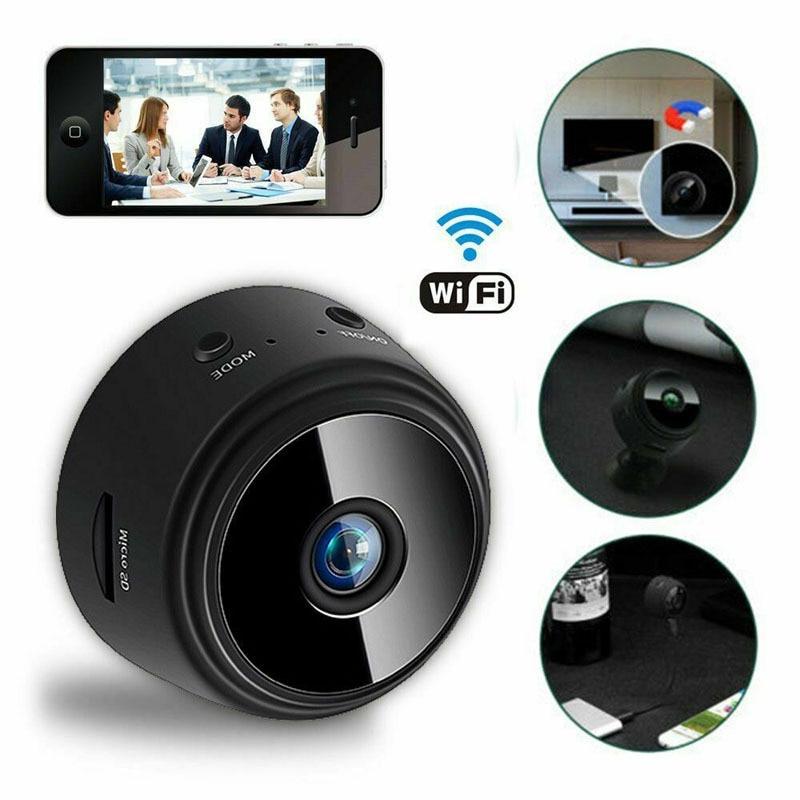 Mini Camera 1080P HD Security Remote Control Night Vision Mobile Detection Video Surveillance Wifi Camera Hid den Camera