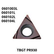 KYOCERA TBGT0601003 TBGT060101 TBGT060102 TBGT060104 L PR930 TBGT 0601003 060101 060102 060104 Carbide Inserts Lathe Tools