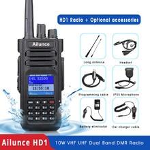 RETEVIS Ailunce HD1 DMR Radio Digital Walkie Talkie jamón Radio Amateur GPS DMR VHF UHF de banda Dual DMR dos Radio comunicador