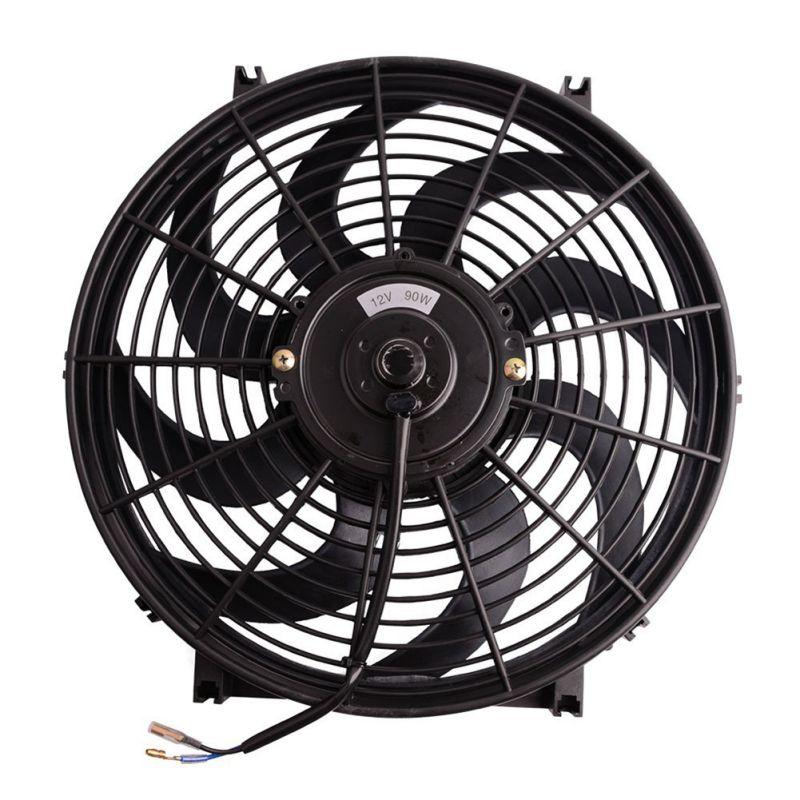 Ventilador de coche eléctrico de 12V, ventilador de aire acondicionado de verano de bajo ruido, ventilador de refrigeración portátil para vehículos y camiones
