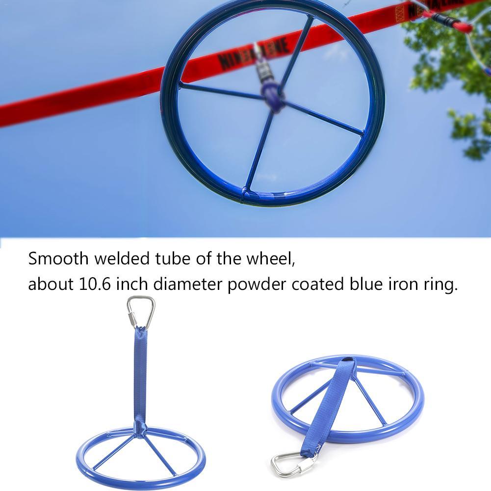 Crianças playground voando ginásio anéis swing voando puxar para cima anel roda ninja esportes ao ar livre indoor balanço jogos para crianças presentes 3